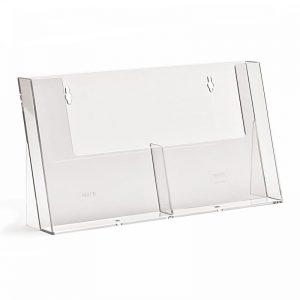 Επιτραπέζιο stand για έντυπα διάστασης Α5, 2 θέσεων.