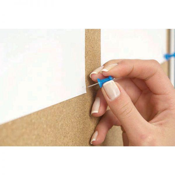 Πίνακας ανακοινώσεων από profile αλουμινίου. Κλειδώνει και μπορεί να τοποθετηθεί οριζόντιος ή κάθετος.