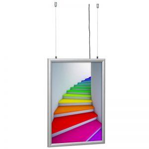 Lightbox εκτυπώσεων | Φωτιζόμενα διαφημιστικά σταντ διπλής όψης μονής όψης, επιδαπέδιο, επιτοίχιο ή κρεμαστό. Ιδανικό για events