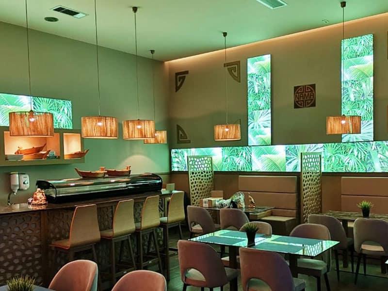 Lightboxes Multiplo Εστιατόριο NAMA
