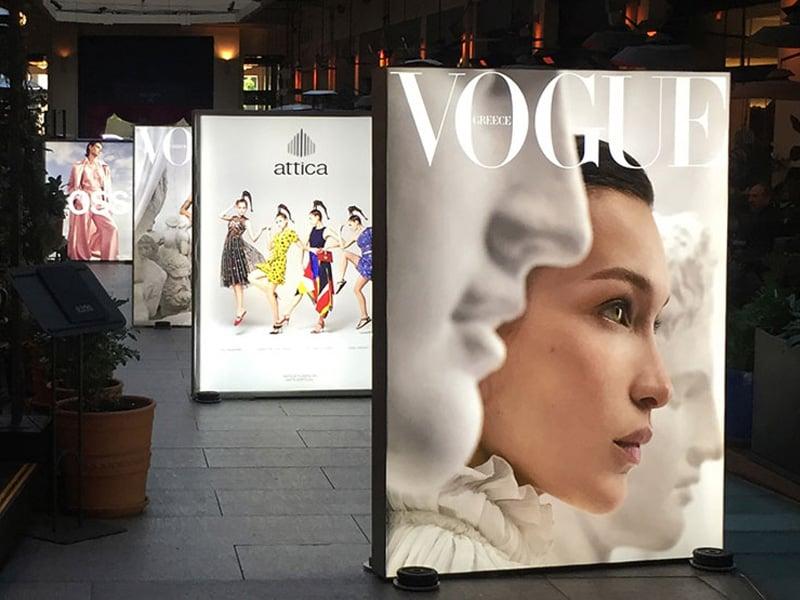 Backdrops Multiplo Eκδήλωση Vogue