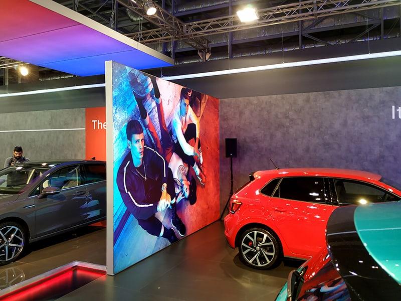 Backdrop LED Multiplo, VW