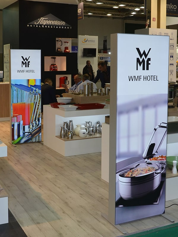 Banner stands Multiplo WMF