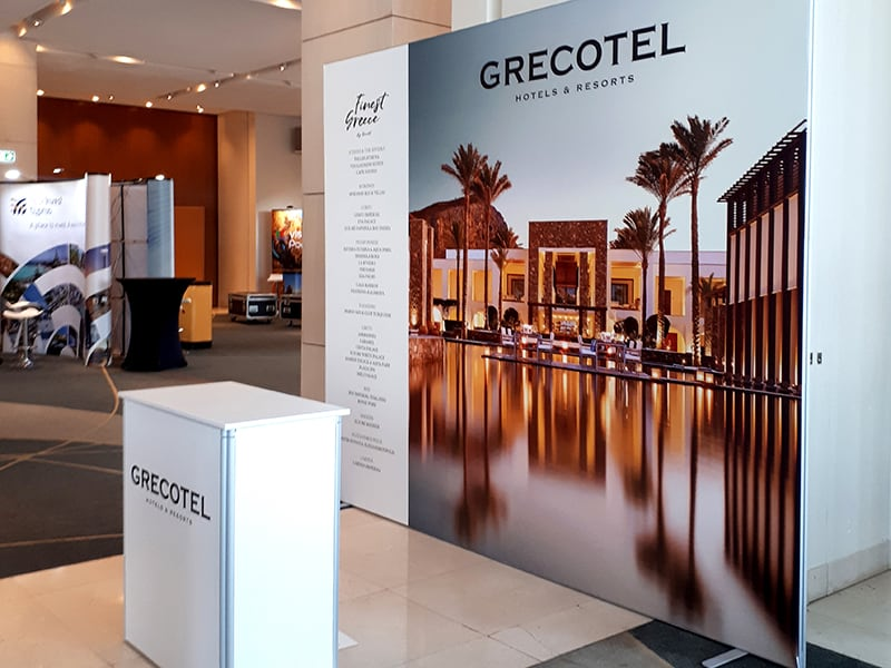 Promotion Booth Multiplo, Grecotel
