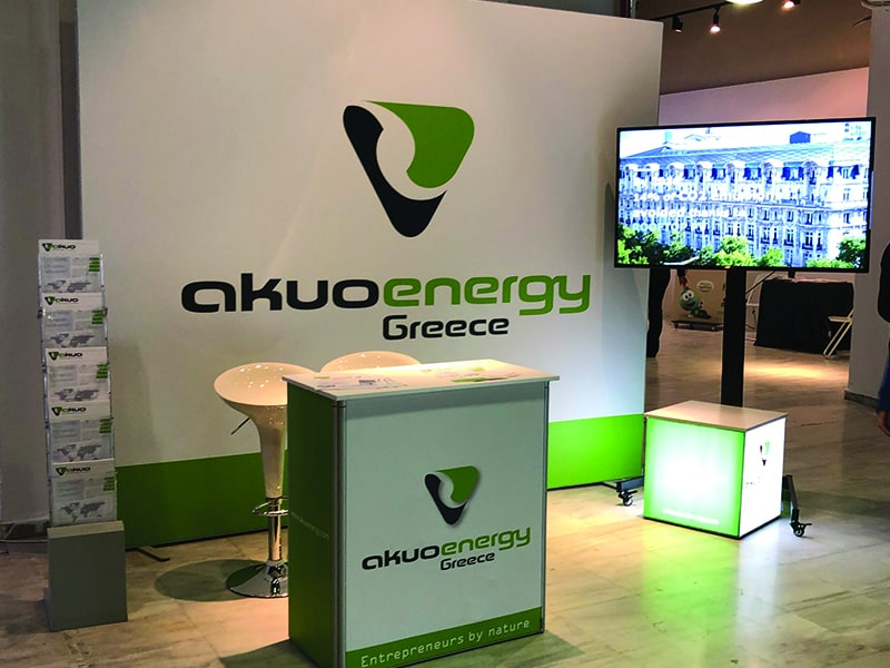 Promotion Booth Multiplo, Akuo Energy