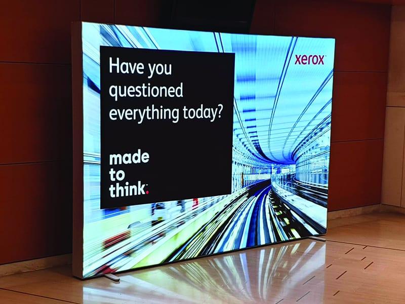 Backdrop LED Multiplo, Xerox