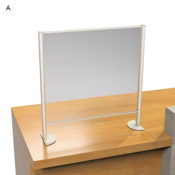 Προστατευτικά Plexiglass πάγκου